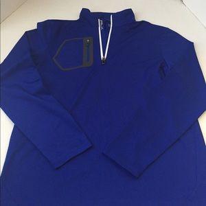 Men's RLX RALPH LAUREN 1/4 Zip Athletic Shirt Med.